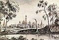 Рабус Карл Иванович - Вид на Симонов монастырь.jpg