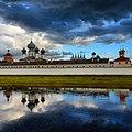 Тихвинский монастырь, вид с реки Тихвинки.jpg