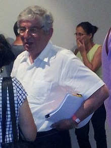 דוד ליבאי, ועידת מפלגת העבודה, אוגוסט 2013.jpg
