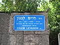 שלט רחוב חיים לבנון.JPG