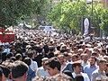تشییع جنازه آیت الله محمد تقی بهجت در قم Burials in Iran Grand Ayatollah Mohammad Taqi Bahjat Foumani 08.jpg