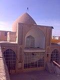 گنبدخانه آجری زیبای مسجد بازار شهرضا.jpg