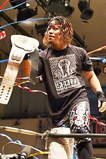 Shunma Katsumata Japanese professional wrestler