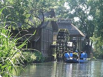 Dreams (1990 film) - Watermills in the Daio Wasabi farm
