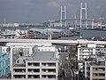横浜港とベイブリッジ - panoramio.jpg