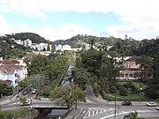 0000 Vistas de Petrópolis (estado do Rio de Janeiro, Brasil) tiradas da Catedral.JPG