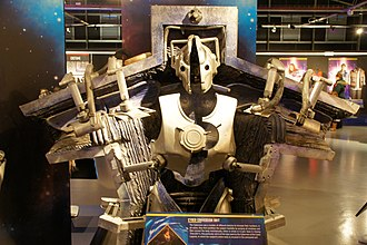 Closing Time (Doctor Who) - The Cybermen as it appears in this episode, as shown at the Doctor Who Experience.