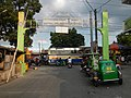 0164jfChurch San Isidro Holy Cross Halls Roads Caloocan Cityfvf 02.JPG