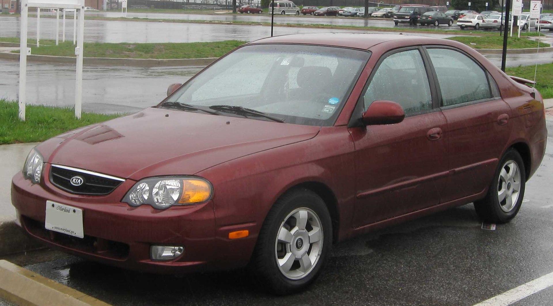 Px Kia Spectra Hatch Front