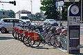 02014 Fahrräder mieten in Krakau.JPG