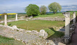 Alesia (city) - Archaeological site, Alesia.