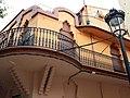 045 Mercat, antic Ateneu (Caldes d'Estrac), façana lateral.JPG