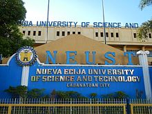 Nueva Ecija University of Science and Technology - Wikipedia