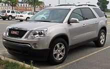 Excellent Gmc Acadia Wikipedia Gmtry Best Dining Table And Chair Ideas Images Gmtryco