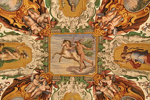 0 Fresque représentant Mercure - Musée du Vatican (1).JPG