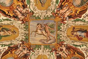 English: Fresco of Mercury - Vatican Museum - ...