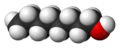 1-Octanol-3D-vdW.png