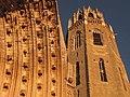 104 Seu Vella de Lleida, porta dels Apòstols i campanar.jpg