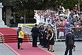 11 Marzo 2018, Ministra Cecilia Perez participa en la llegada del Prdte. Sebastian Piñera a La Moneda. (40046376274).jpg