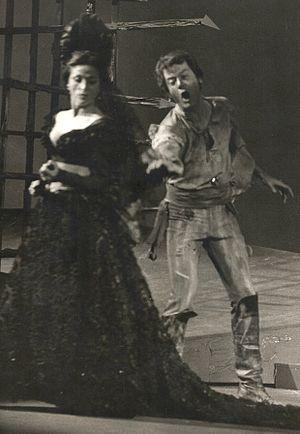 Géori Boué - Géori Boué in Carmen in 1969.