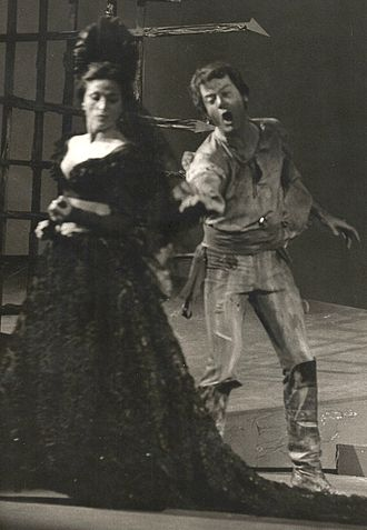 Géori Boué - Image: 13. Carmen (Don José) avec Géori Boué 1969