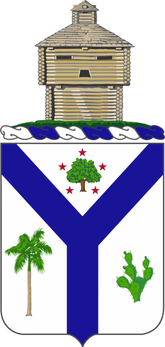 132nd Illinois Volunteer Infantry Regiment - Coat of arms
