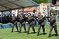 16 obljetnica vojnoredarstvene operacije Oluja 05082011 Pocasno zastitna bojna pocasno ceremonijalni program 384.jpg