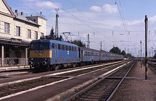 Hegyeshalom railway station railway station