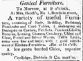 1816 furniture BowdoinSt BostonDailyAdvertiser April17.png