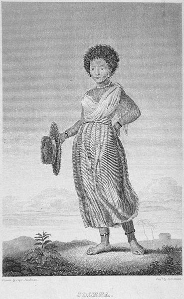 File:1838 Joanna frontispiece Narrative byStedman engr byGeorgeGSmith NYPL.jpeg