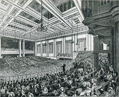 Meeting of the Anti-Corn Law League, 1846