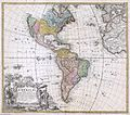 1846 Homann Heirs Map of North America ^ South America - Geographicus - Americae-homannheirs-1746.jpg