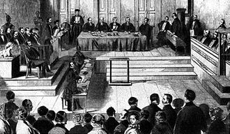 The Communist Manifesto - Immediately after the Cologne Communist Trial of late 1852, the Communist League disbanded itself