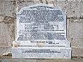 1857 'Victory' sinking commemorative tablet Margate Kent England.jpg