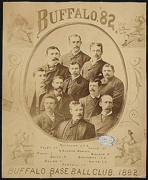 1882 Buffalo Bisons season - Image: 1882 Buffao Bisons