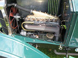 Vauxhall Prince Henry - Image: 1912 Vauxhall Prince Henry engine