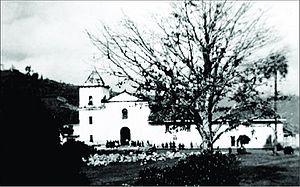 La Capilla - Image: 1929 antiguo templo de La Capilla