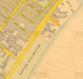 1932 Singapore survey map showing the location of Marlborough Cinema along Beach Road.png