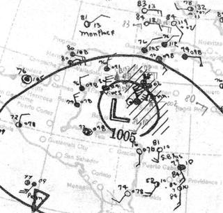 1933 Tampico hurricane Category 5 Atlantic hurricane in 1933
