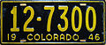 1946 Colorado license plate.JPG
