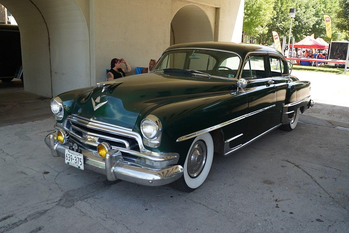 File 1954 Chrysler New Yorker Deluxe 27216492363 Jpg Wikimedia Commons
