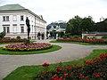 1956 - Salzburg - Schloss Mirabell and Festung Hohensalzburg.JPG