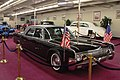 1962 Lincoln Continental Towne Limousine (President Kennedy) (8391189460).jpg