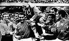 1963 Mediterranean Games, football tournament - Italy's celebration.jpg