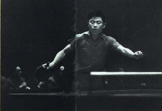 Xu Yinsheng Chinese table tennis player