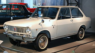 Japanese economic miracle - The low-cost Nissan Sunny became a symbol of the Japanese middle class in the 1960s