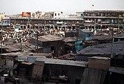 Slums in Delhi, India. About 2.6 million people live in slum designated areas across Delhi.