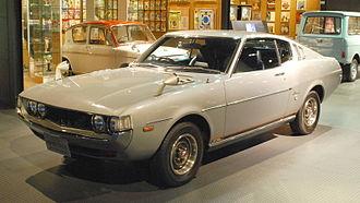 Toyota Celica - 1973 Toyota Celica liftback 2000 GT (RA25, Japan)