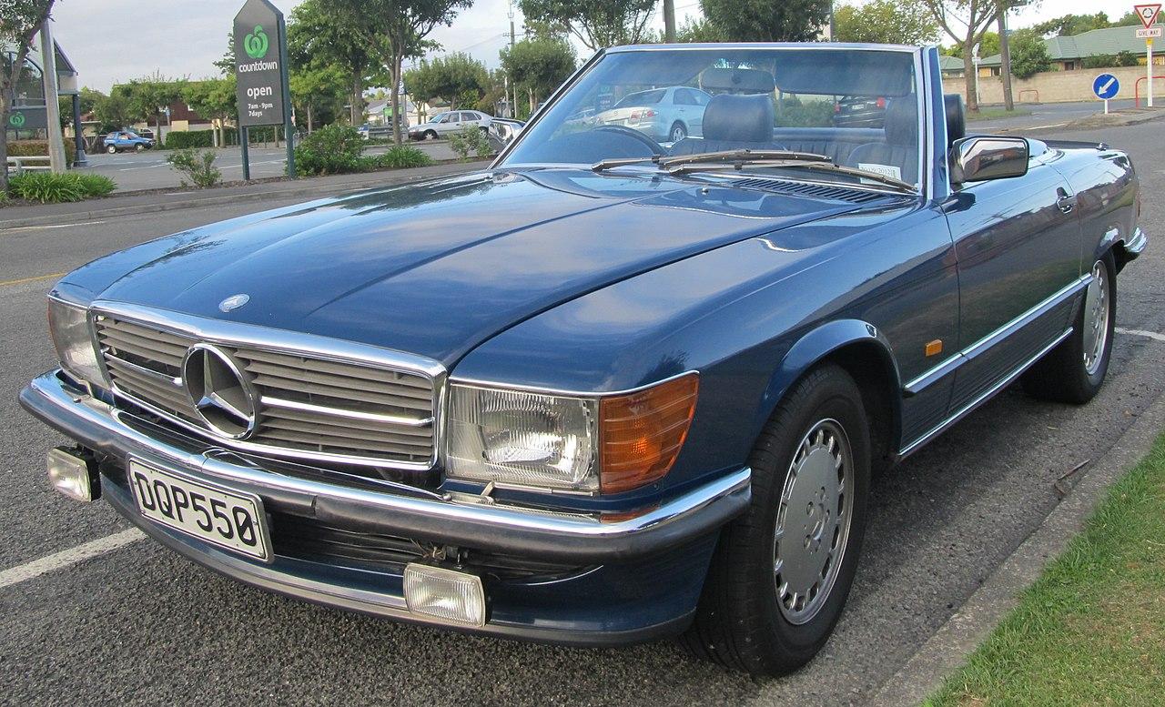 File 1986 mercedes benz 500 sl convertible 6874326665 for Mercedes benz sl 500