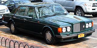 Bentley Turbo R car model